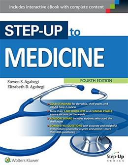 Step-Up to Medicine, by Agabegi, 4th Edition 9781496306142