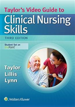 Video Guide to Clinical Nursing Skills, by Taylor, 3rd Edition, Access Code Only 3 PKG 9781496316486