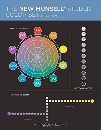 New Munsell Student Color Set, by Long, 4th Edition 9781501305405