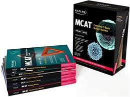 MCAT Complete Subject Review, by Kaplan, 3rd Edition, 7 BOOK SET 3 PKG 9781506205595