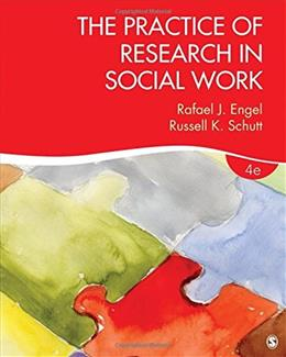 Practice of Research in Social Work, by Engel, 4th Edition 9781506304267