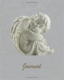 Journal: Sleeping Angel 8x10 - LINED JOURNAL - Journal with lined pages - (Diary, Notebook) (8x10 Motivational Lined Journal Series) 9781537342962