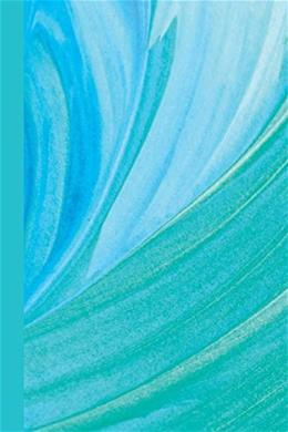 Journal: Blue Green Waves 6x9 - DOT JOURNAL - Journal with dotted pages (Watercolor Dot Journal Series) 9781544641201