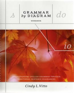 Grammar by Diagram: Understanding English Grammar Through Traditional Sentence Diagraming, by Vitto, Workbook 9781551119014