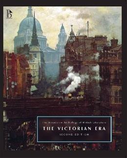Broadview Anthology of British Literature, by Black, 2nd Edition, Volume 5: The Victorian Era 9781554810734