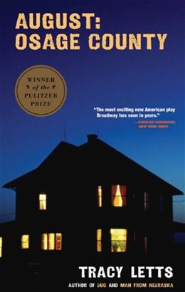 August: Osage County, by Letts 9781559363303