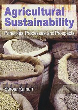 Agricultural Sustainability, by Raman 9781560223115