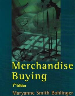 Merchandise Buying 5th edition 9781563671883