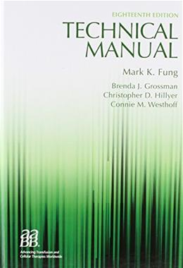 Technical Manual, 18th edition (Technical Manual of the American Assoc of Blood Banks) 18 PKG 9781563958885