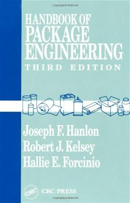Handbook of Package Engineering, by Hanlon, 3rd Edition 9781566763066
