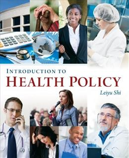 Introduction to Health Policy 1 9781567935806