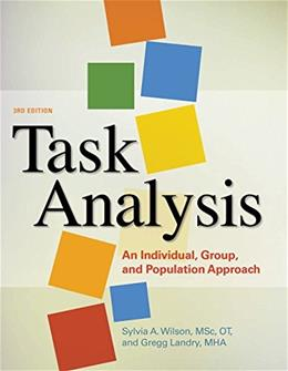 Task Analysis: An Individual and Population Approach, by Watson, 3rd Edition 3 PKG 9781569005347