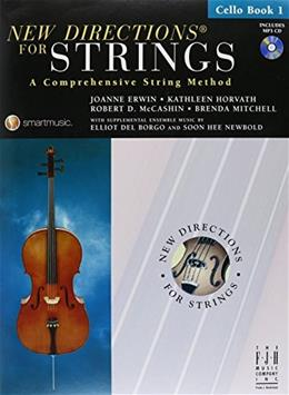 New Directions for Strings Cello Book 1 SB303VC 9781569395745