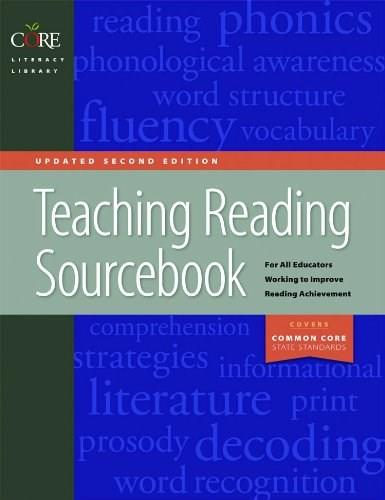 Teaching Reading Sourcebook, by Honig, 2nd Updated Edition 9781571286901