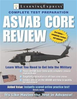 ASVAB Core Review 3 9781576856666
