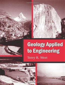 Geology Applied to Engineering, by West 9781577666554