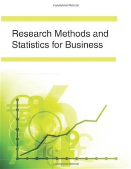 Research Methods and Statistics for Business, by Lussier BK w/CD 9781577666585