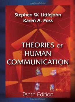 Theories of Human Communication 10 9781577667063