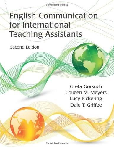 English Communication for International Teaching Assistants, by Gorsuch, 2nd Edition 2 w/CD 9781577667766