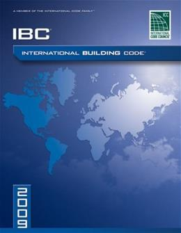 2009 International Building Code, by International Code Council BK w/CD 9781580017251