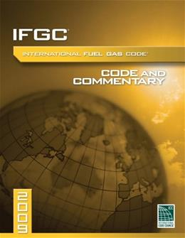 2009 International Fuel Gas Code Commentary, by ICC 9781580019002