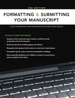 Formatting & Submitting Your Manuscript 3 9781582975719