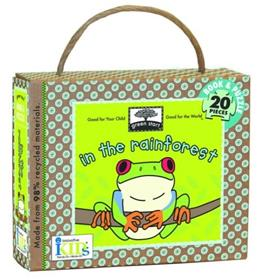Green Start: In the Rainforest (Book and Puzzle) - Made From 98% Recycled Materials BRDBK/PZZL 9781584769330