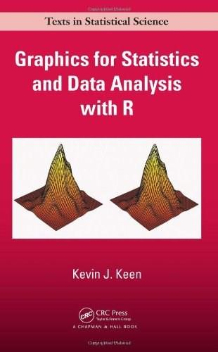 Graphics for Statistics and Data Analysis with R, by Keen 9781584880875