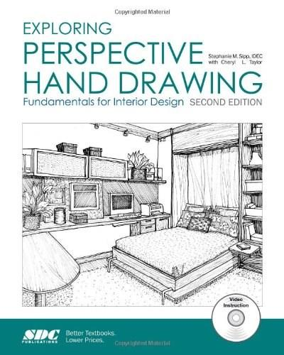 Exploring Perspective Hand Drawing, by Sipp, 2nd Edition 2 PKG 9781585039012