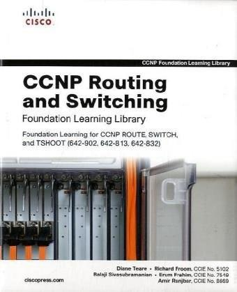 Ccnp Routing and Switching Foundation Learning Library, by Teare, 3 BOOK SET PKG 9781587058851