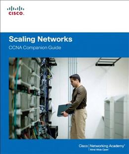 Scaling Networks Companion Guide, by Cisco Press 9781587133282