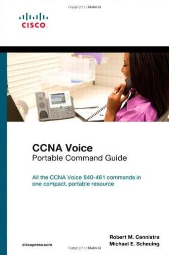 CCNA Voice Portable Command Guide, by Cannistra 9781587204425