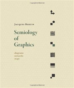 Semiology of Graphics: Diagrams, Networks, Maps, by Bertin 9781589482616