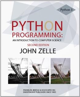 Python Programming: An Introduction to Computer Science 2 9781590282410
