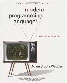 Modern Programming Languages: A Practical Introduction 2nd Edition 9781590282502