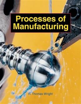 Processes of Manufacturing, by Wright, Grades 11-12 9781590703625