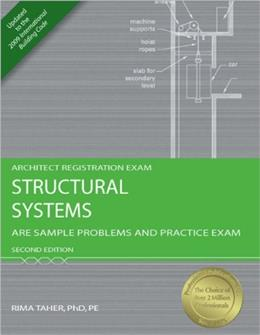 Structural Systems: ARE Sample Problems and Practice Exam, by Taher, 2nd Edition 9781591263319