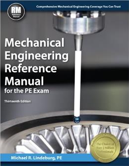Mechanical Engineering Reference Manual for the PE Exam, 13th Ed 9781591264149