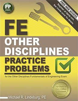 FE Other DIsciplines Practice Problems 1 9781591264446