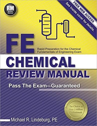 FE Chemical Review Manual New 9781591264453