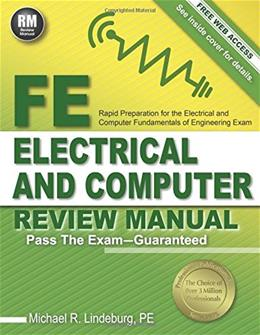 FE Electrical and Computer Review Manual, by Lindeburg PKG 9781591264491