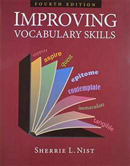 Improving Vocabulary Skills, by Nist, 4th Edition 9781591941903