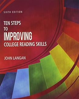 Ten Steps to Improving College Reading Skills 6 9781591944232