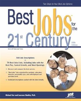 Best Jobs for the 21st Century 5 9781593575366