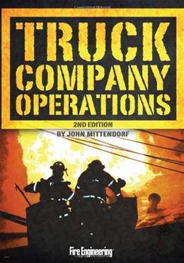 Truck Company Operations, by Mittendorf, 2nd Edition 9781593702182