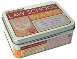 Law School in a Box, by Mental Floss, FLASHCARDS ONLY PKG 9781594741463