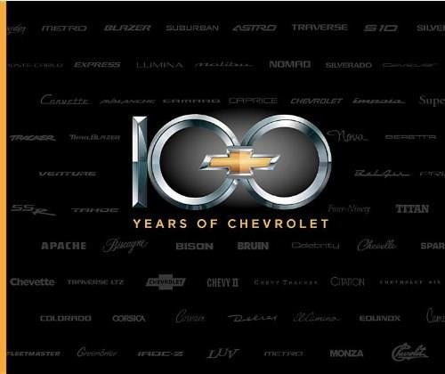 100 Years of Chevrolet 9781596130715