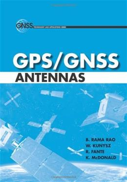GPS-GNSS Antennas, by Rao 9781596931503
