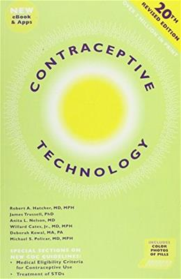 Contraceptive Technology 20 w/CD 9781597080040