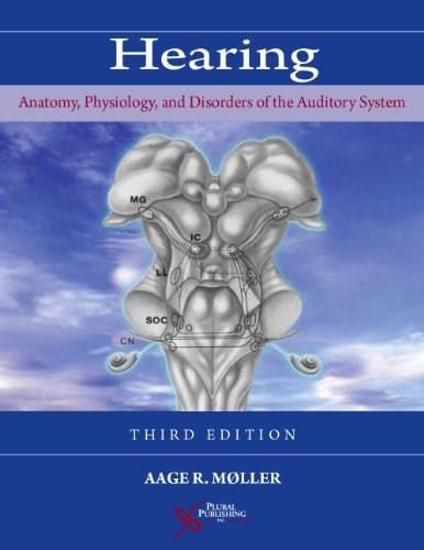 Hearing: Anatomy, Physiology, and Disorders of the Auditory System, by Moller, 3rd Edition 9781597564274